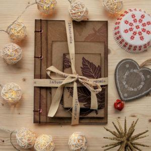 Set Acero Natale regalo ecofriendly