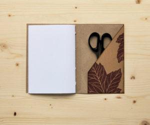 set regalo 3 quaderni acero Set Acero tasca
