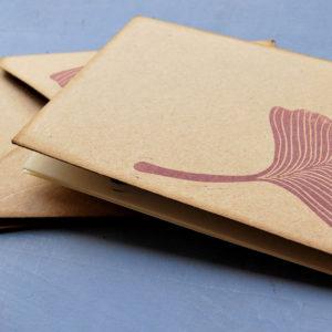 Set carte da lettera Gingko Leaves buste