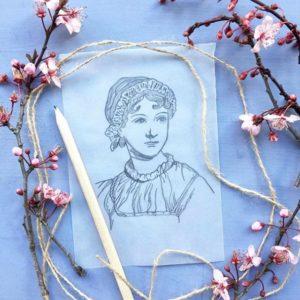 Jane Austen disegno
