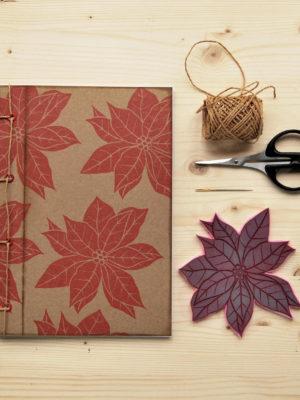 Quaderno Euphorbia con timbro