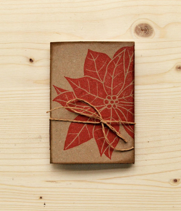 mini quaderno in carta riciclata, Quaderno A7 Euphorbia