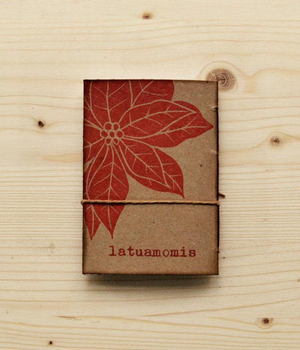 Quaderno A7 Euphorbia dorso