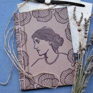 cartoleria ecosostenibile Quaderno Virginia Woolf alto
