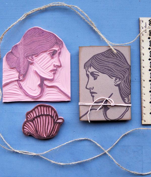 Set regalo mini quaderni Virginia timbro