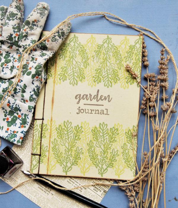 quaderni ecosostenibili cartoleria artigianale Idee regalo Quaderno A5 Garden Journal