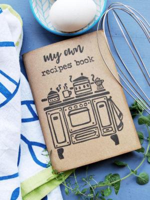 ricettario da scrivere Ricettari fatti a mano My Own Recipes Book