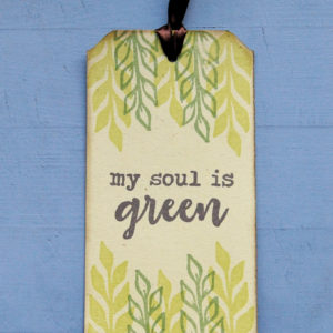 Segnalibro green My Soul Is Green fronte