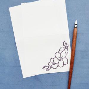Carta da lettera elegante Set carte da lettera I Am Slow fogli