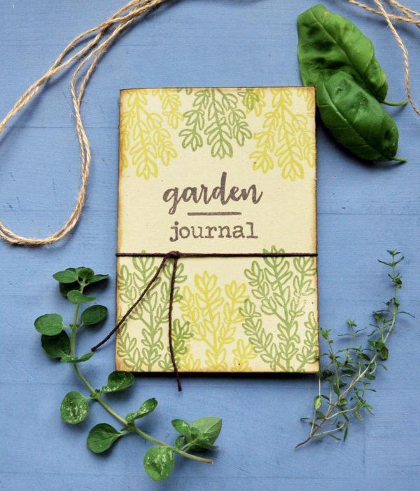 Taccuino Gardening journal