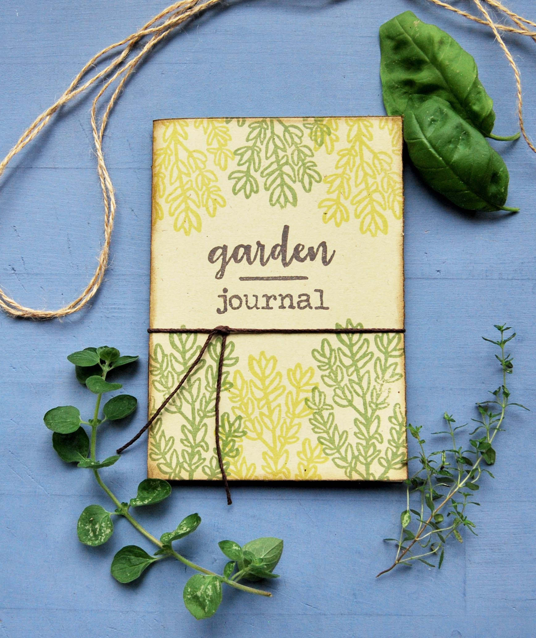 Taccuino Gardening journal