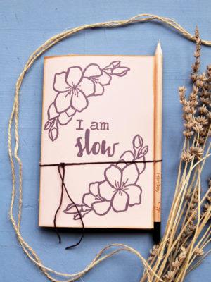 I Am Slow taccuini da disegno fatti a mano sketchbook artigianali taccuini per progetti