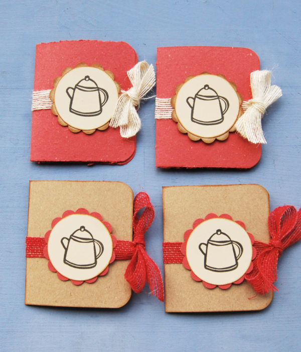 Tea bag set aperto