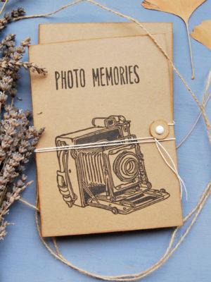 Album fotografico fatto a mano
