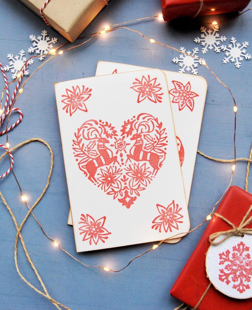 biglietti di auguri natalizi, biglietti natalizi personalizzati