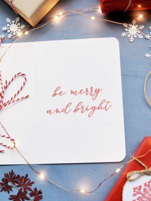 biglietti di auguri natalizi