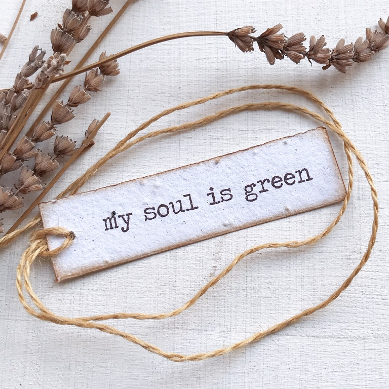 My soul is green