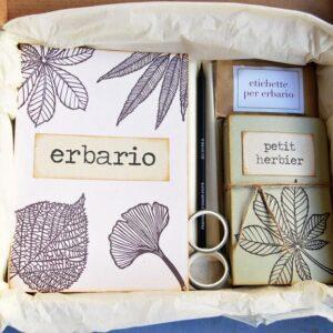 Boxed gift erbario 1a