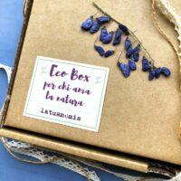 Gift box cartoleria Erbario, confezione regalo cartoleria erbari