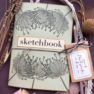 Sketchbook dandelion 2021