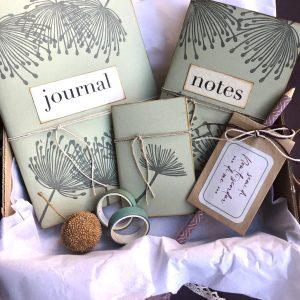 gift box dandelion